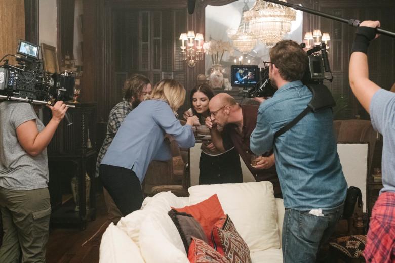 clara's ghost behind the scenes