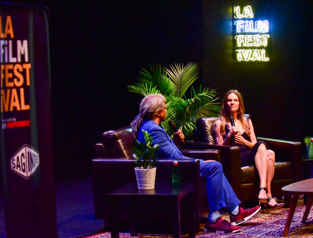 hilary swank elvis mitchell la film fest 2018