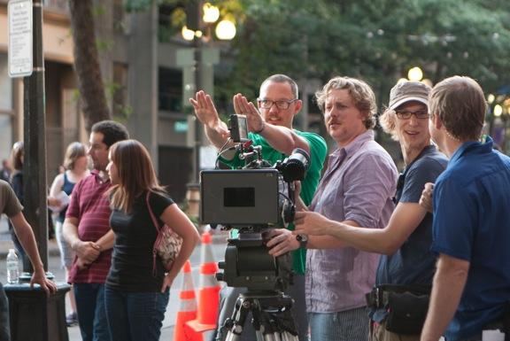 Matthew Lillard directing on FAT KID RULES THE WORLD