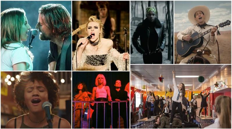 2018 movie music