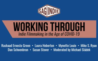 Virtual Panel: WORKING THROUGH – Indie Filmmaking in the Age of COVID-19